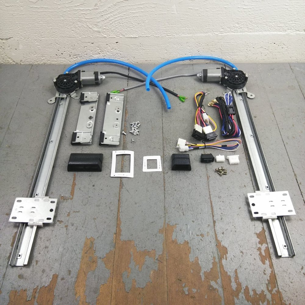 medium resolution of 1931 50 chevy power window kit plugplay wiring harness cut to fit interior 12v bar product description c