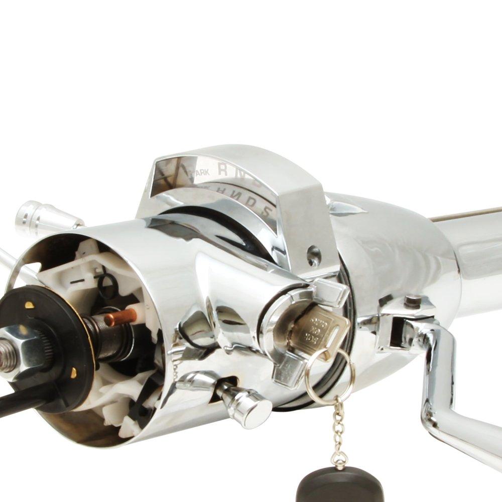 medium resolution of 1937 1948 chevy 33 chrome tilt steering column keyed col shift gmc gm