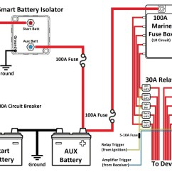 Powertech Dual Battery Isolator Wiring Diagram Cable Modem Smart Isolator-dual