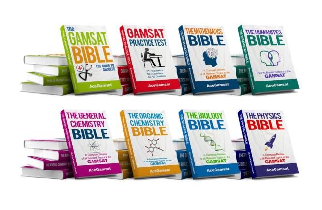 gamsat study books