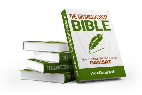 gamsat essay bible