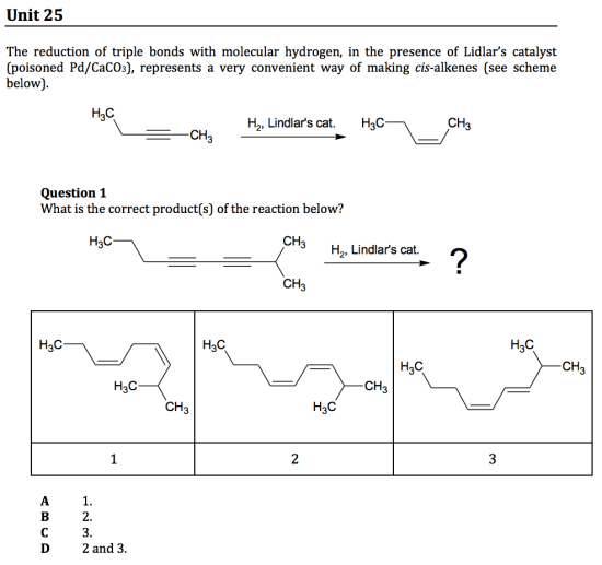 gamsat organic chemistry questions