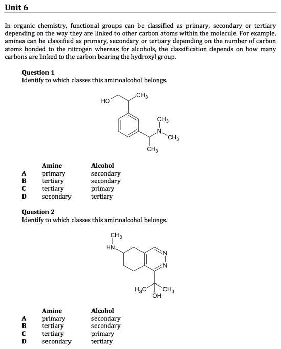 gamsat organic chemistry