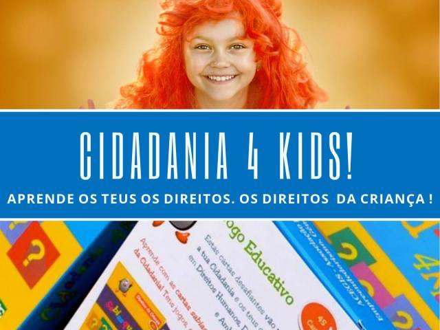 Cidadania 4 KIDS! O jogo educativo para celebrar o Dia da Criança
