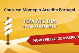 concurso Montepio Acredita Portugal-novo prazo-ACEGIS-2019