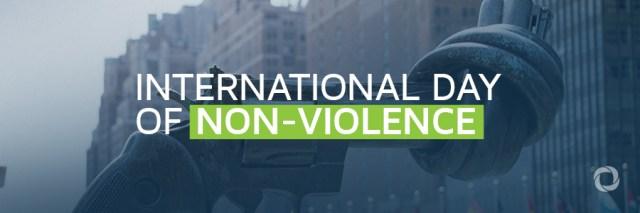 02 de Outubro   Dia Internacional da Não-Violência