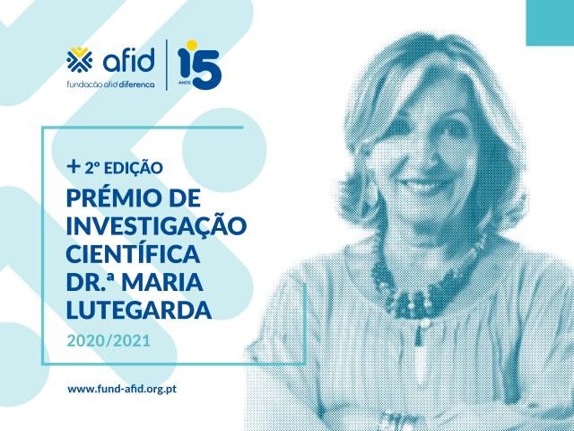 2ª edição do Prémio de Investigação Científica na área da Reabilitação, Dr.ª Maria Lutegarda-ACEGIS