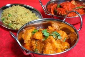Receta de Pollo al Curry con Aceite de Coco