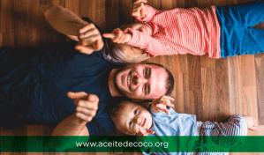 5 usos de Aceite de Coco en los Niños