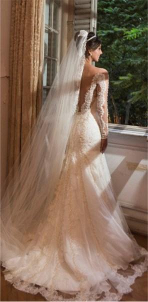 modelo de vestido de noiva