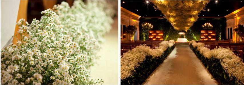 Mosquitinho para decoração de casamento no religioso