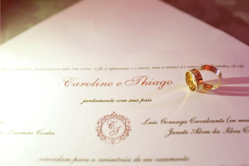 Noiva - Convites de Casamento