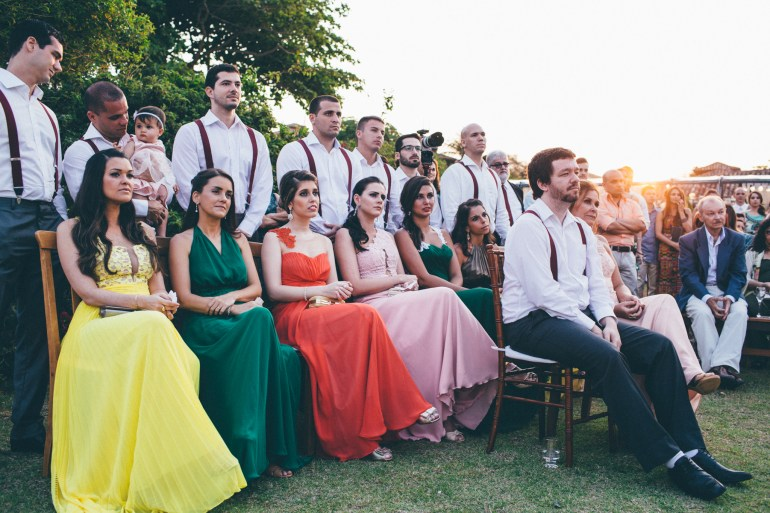 Madrinhas da noiva