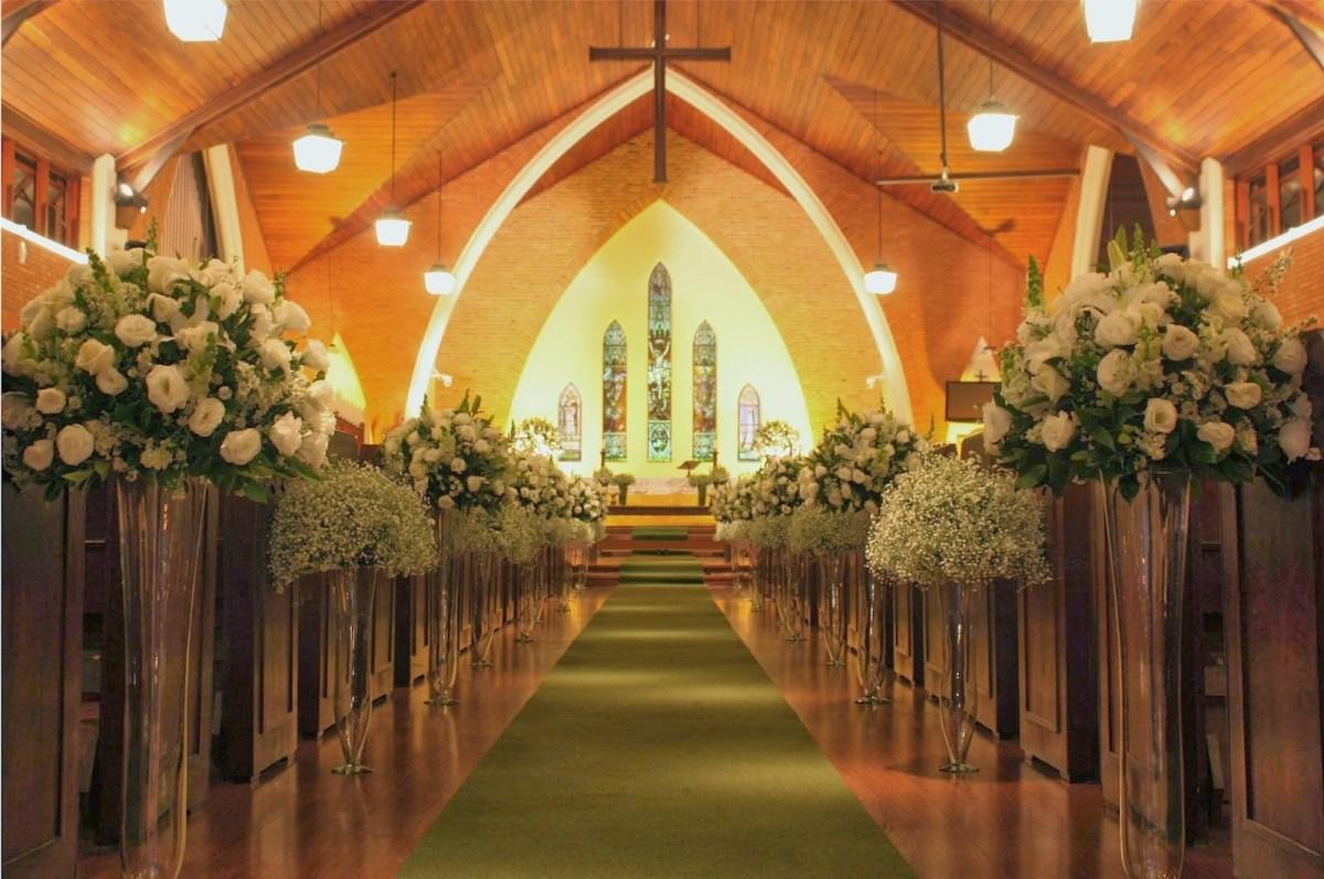Passadeira para casamento no religioso