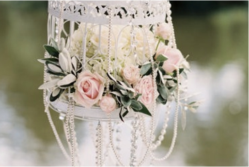 decoração de casamento com perola