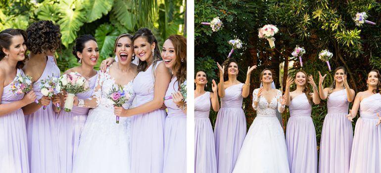 Vestidos de madrinha de casamento