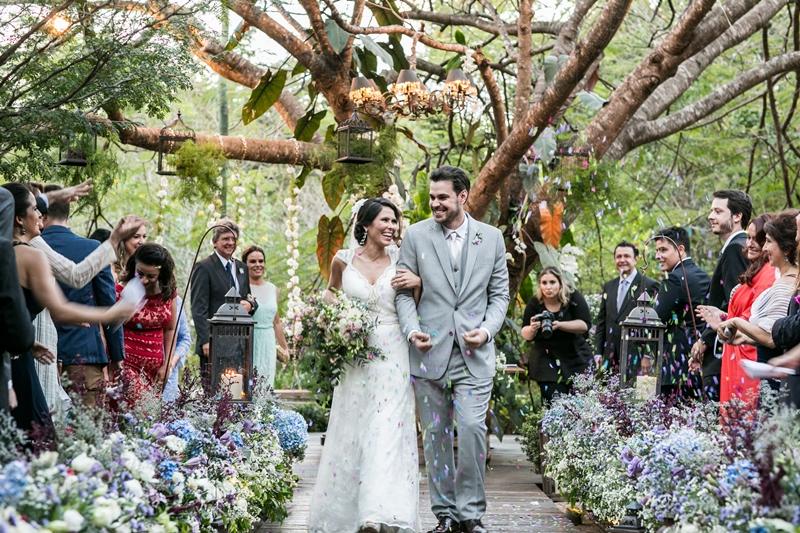 Casamento ao ar livre em São Paulo