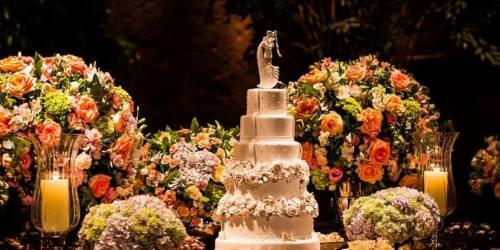 Bolos de Casamento - Jéssica Vitor