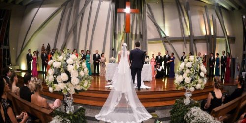Igreja para Casamento - Cruz Torta