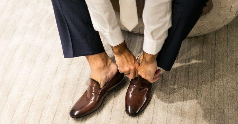 Sapato do Noivo sem Meia