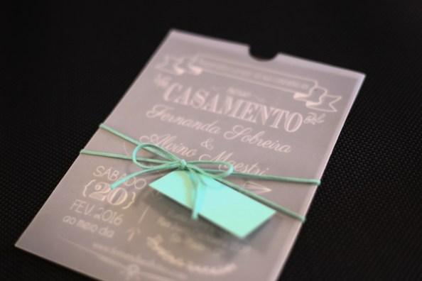 Convite de Casamento - Mini Wedding Moderno | Papel e Estilo