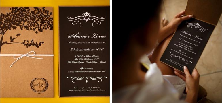 Casamento no Deck - Convite