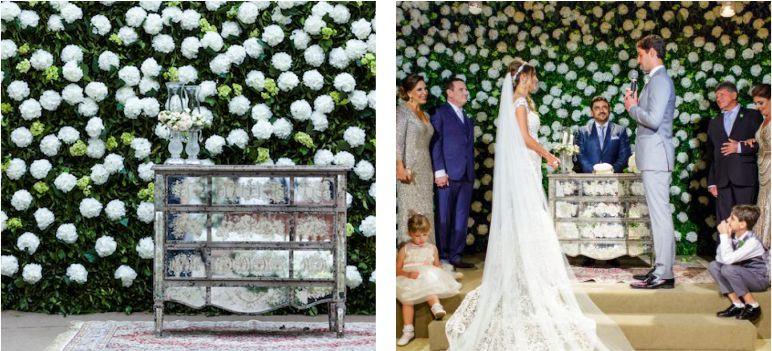 Decoração para cerimônia de Casamento
