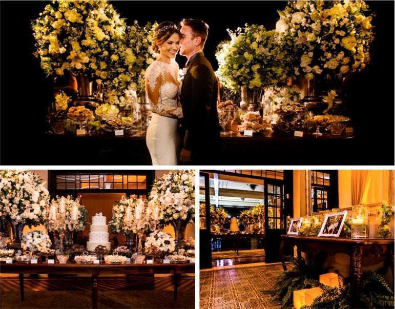 Decoração para Mini Wedding - Clássico