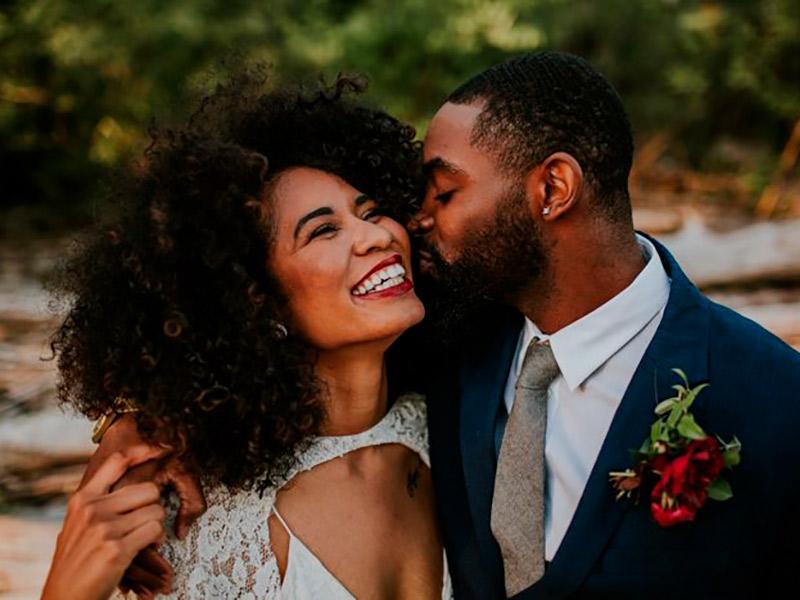 Maquiagem para Noiva: Batom Vermelho | Pele Negra