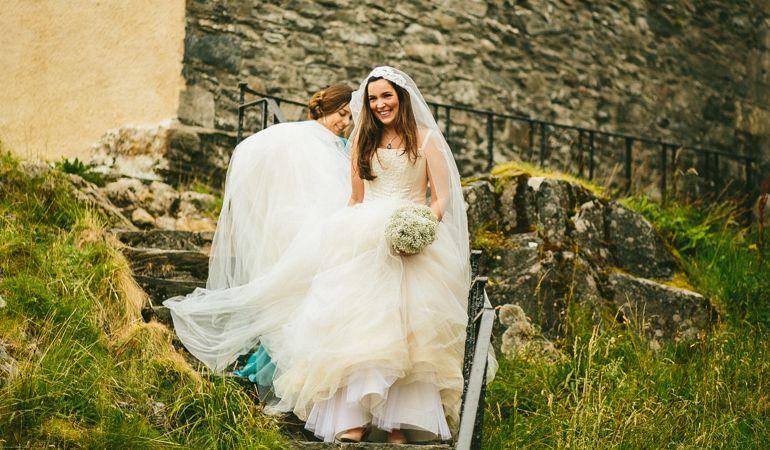 Tipos de tecido para vestido de noiva: Tule