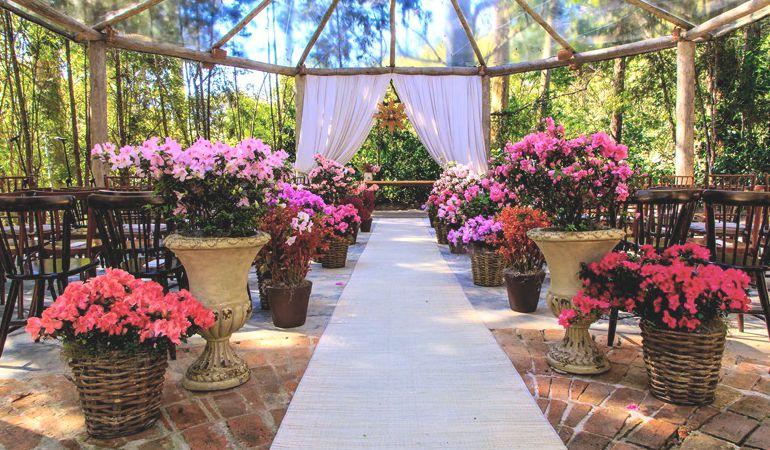 Decoração de cerimonia de casamento