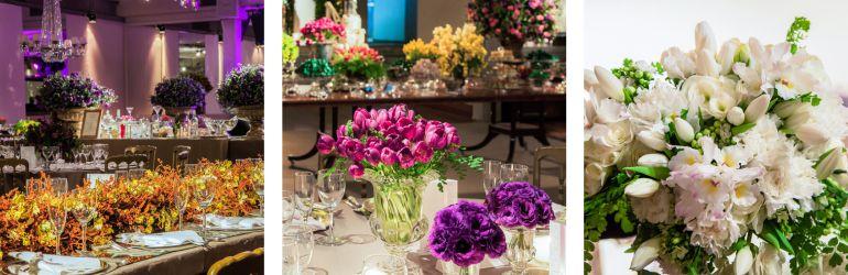 Flores decoração de casamento