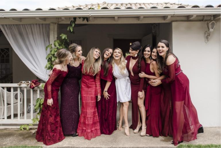 Madrinhas de Casamento - Marsala