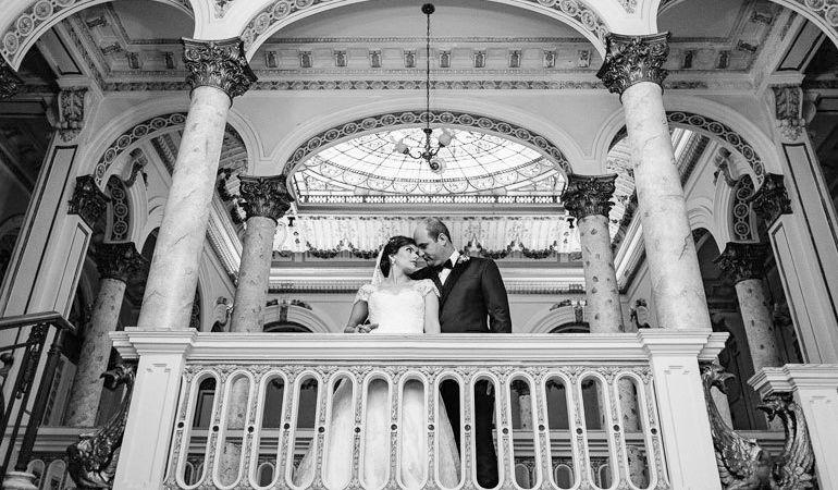 Casamento romântico