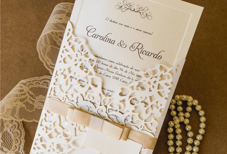 Quantos convites de casamento comprar?