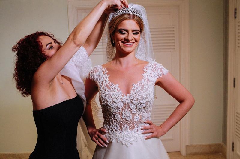 tipos de decotes para vestido de noiva