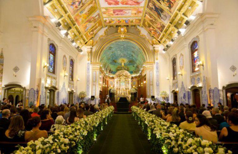 Cerimônia de Casamento Igreja Nossa Senhora do Brasil