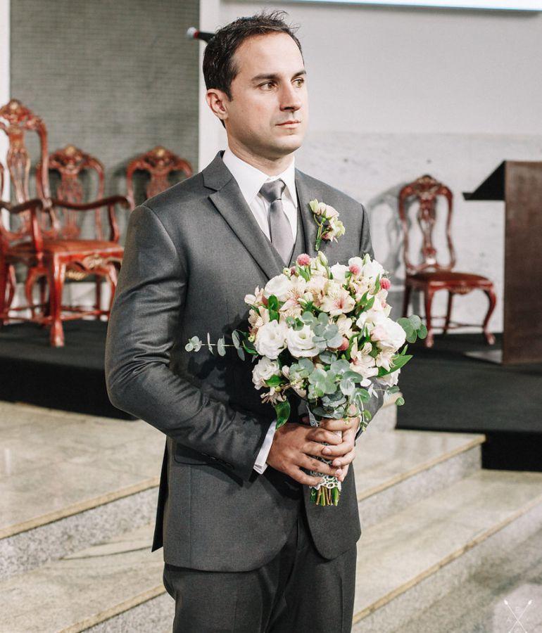 Noivo na Cerimonia de Casamento