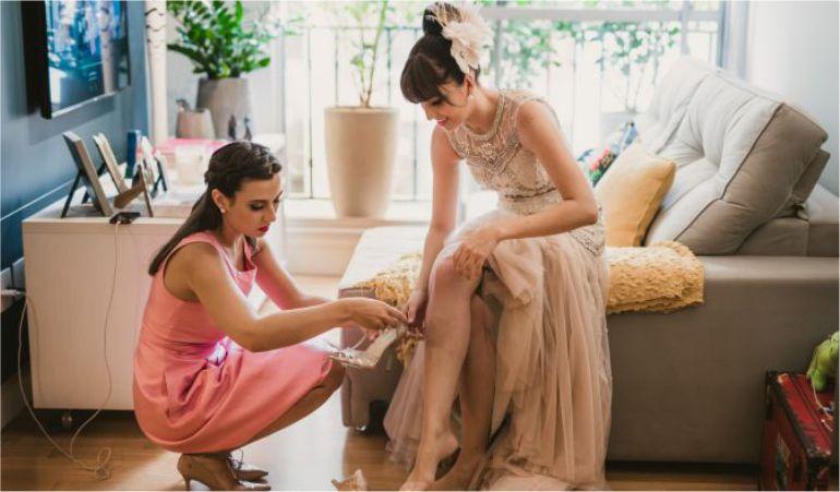 Sapato de Noiva Colorido
