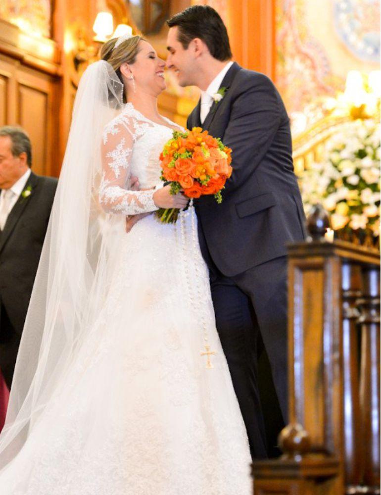 Vestido de noiva Moderno e Clássico