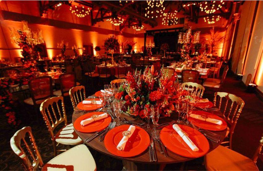 Souplats Vermelhos: Buffet de Casamento Moderno
