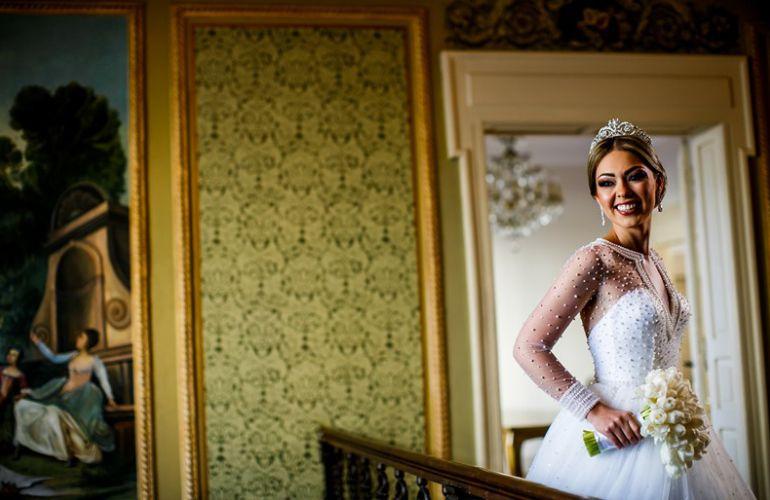 Vestido de noiva casamento moderno