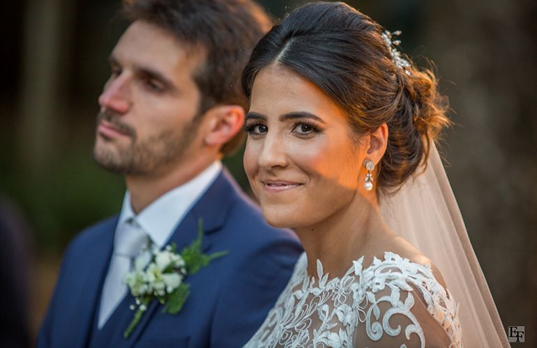Cerimonia de Casamento Caroline e Vitor