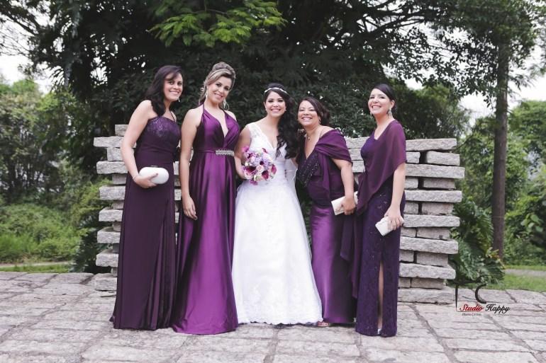 Madrinhas ultra violet