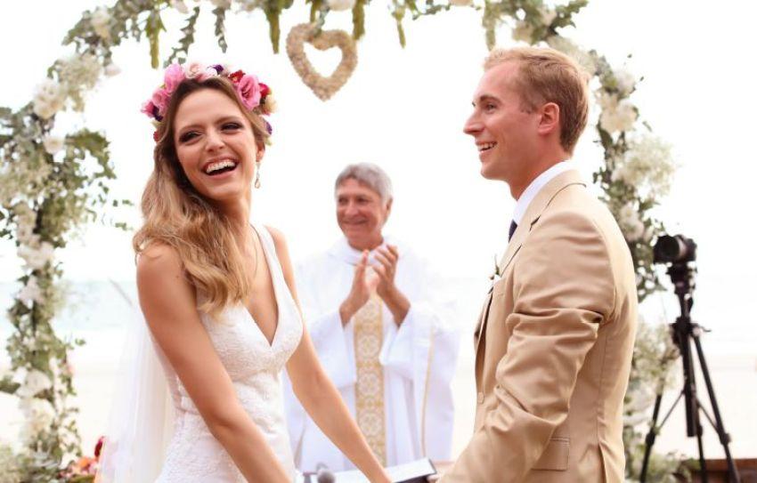 Sorriso da noiva
