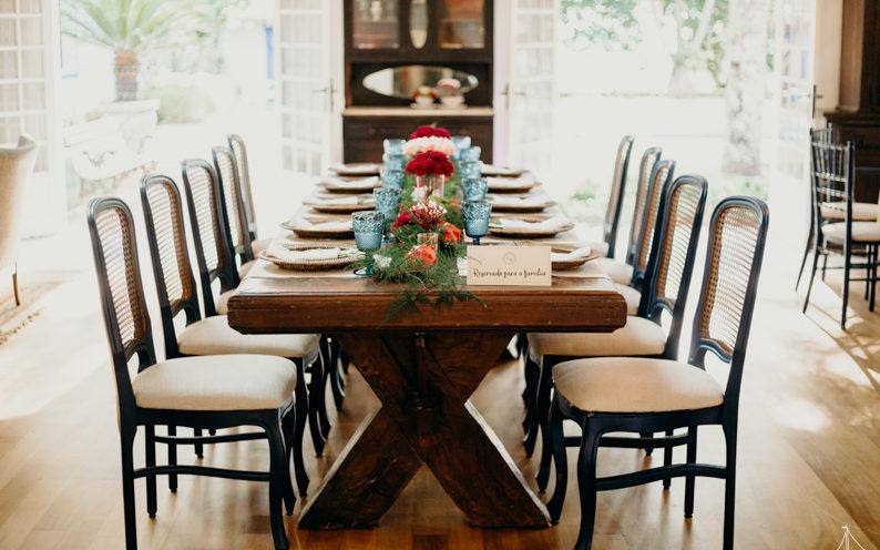 Decoração de mesa para receber jantar   Foto: Sweetsail