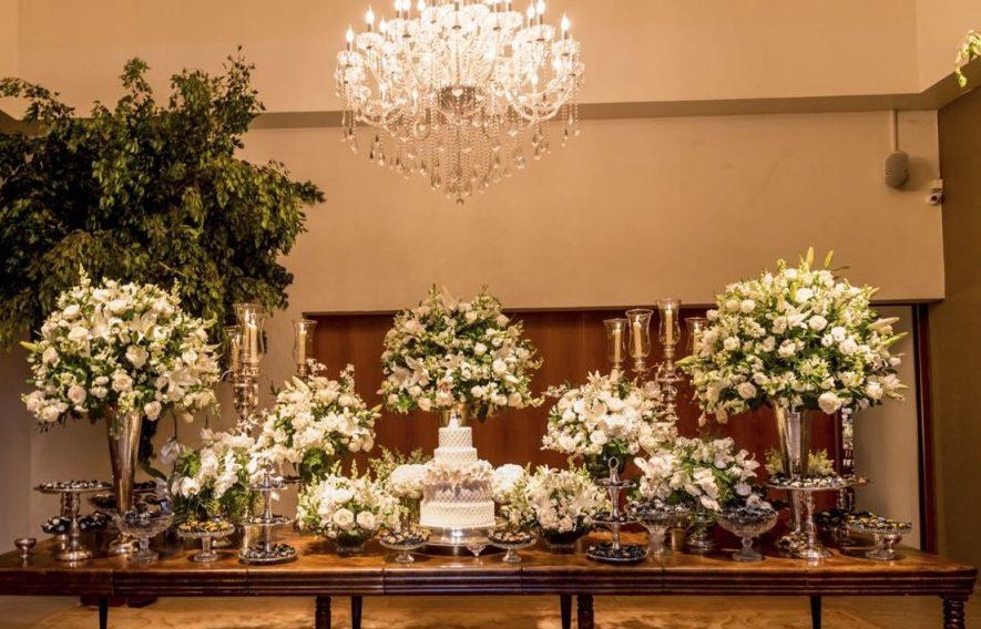 Decoração de Mini Wedding Clássico