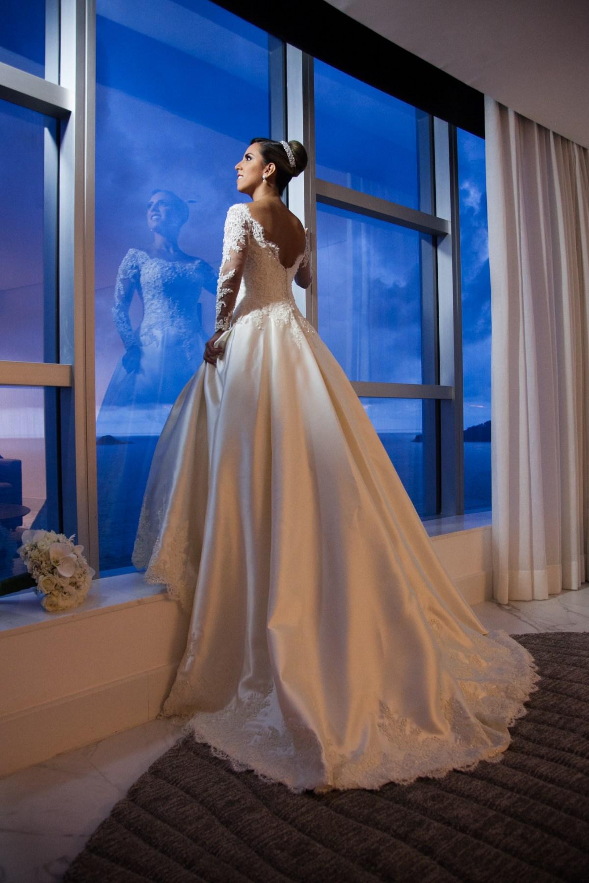 Vestido princesa elegante