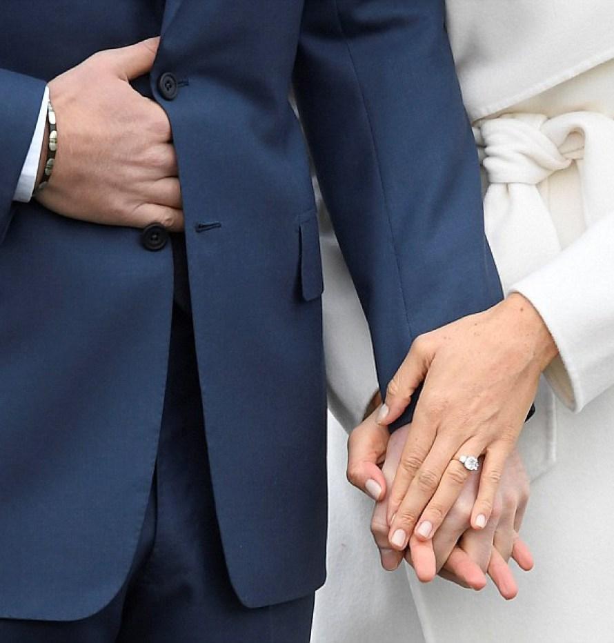 Anel de noivado Principe Harry e Meghan Markle