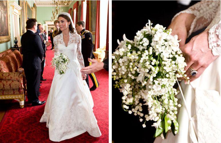 Buquê de noiva Kate Middleton